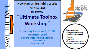 NHPWMA Save the Date Ultimate Toolbox Workshop